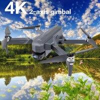 Nuovo F11 PRO Drone 4K HD 2 assi Gimbal Camera WIFI FPV GPS Brushless Dron pieghevole Quadcopter RC elicottero droni professionali