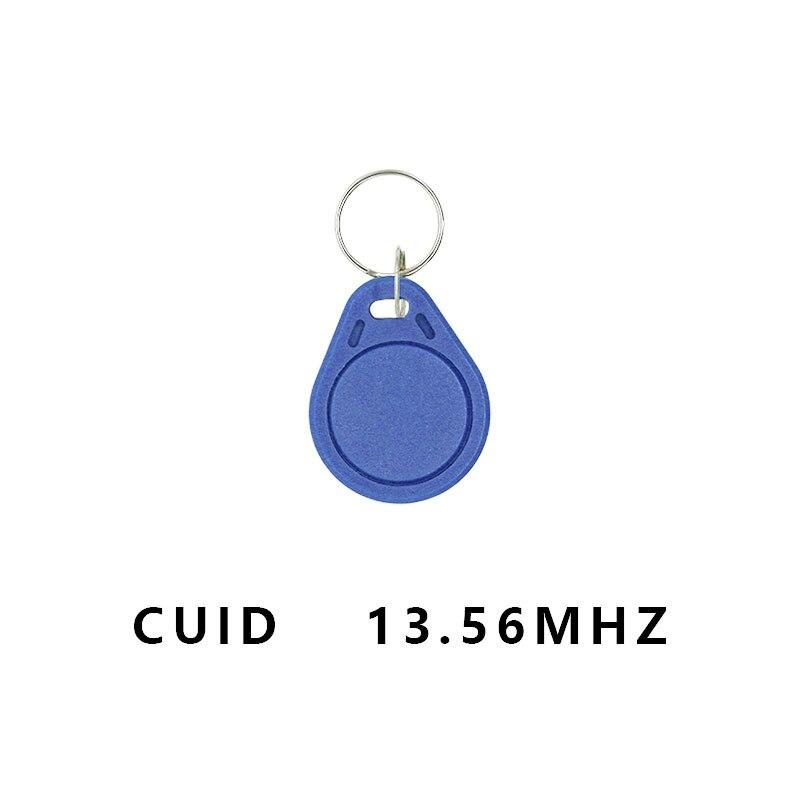5Pcs/lot Keyfobs Token Tags S50 13.5MHZ CUID Changeable MF S50 1K IC KeysNFC Clone Copy  Block 0 Writable14443A