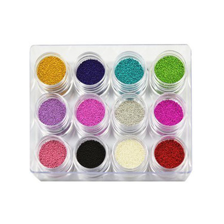 Better Think Manicure Supplies Agent 12-Color Nail Ornament Nail Shimmering Powder A Generation Of Fat Nail Sticker Nail Sequins