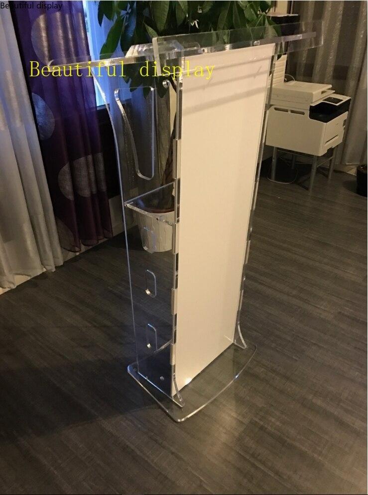 High Quality Elegant Acrylic Podium Plexiglass