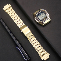 316L Stainless Steel Bezel For G shock Watch Case&Strap For Casio DW5600 GW5600/5035 GW M5610 G5600E Modified into GWM B5000