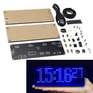 Image 1 - SMD LED דוט דיגיטלי שעון ייצור ערכת אלקטרוני DIY ערכת שעון אלקטרוני ייצור חלקי