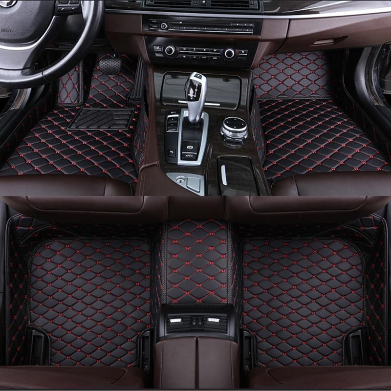 مخصص سيارة الكلمة حصيرة لمرسيدس S الفئة W220 W221 S350 S400 S430 S450 S600 اكسسوارات السيارات السجاد جيب للهاتف