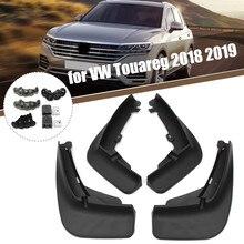 واقيات الطين لـ VW/Touareg 1 MK1 2 MK2 3 MK3 2008 2020 ، واقيات الطين ، وإكسسوارات رفرف السيارة الأمامية والخلفية