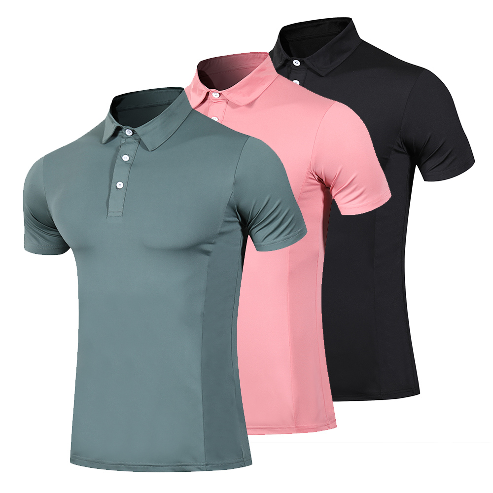 New Golf Clothing Breathable Men's Summer Golf Sports Breathable Golf Shirt POLO Shirt Men's T-shirt