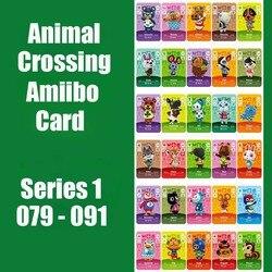 Serie 1 #79-91 Animal Crossing Kaart Amiibo Kaart Sloten Nfc Kaart Werken Voor Schakelaar Ns 3DS Games serie 1 Animal Crossing Amiibo