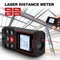GOXAWEE Laser Distance Meter 40M 60M 80M 100M Rangefinder Trena Laser Tape Range Finder Test Tool Measure Device Metro Laser