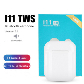 i11 tws bluetooth 5.0 wireless sports earphone Suitable for  iPhone Android Huawei Xiaomi PK i7s i9s mini wireless bluetooth earphone i9s tws stereo headset invisible earbud for all smart phone for iphone huawei pk i7s i12 i11