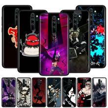 Thin Cover for Redmi Note 9 9S 9 9A 9C 8T 8 7S 7 6 Pro 8 7 6 8A 7A 6A K20 K30 Pro Phone Shockproof Case Manga Anime Black Clover