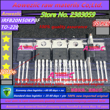 Aoweziic  2019+ 100% new imported original FB20N50K IRFB20N50K  IRFB20N50KPBF  TO 220  N channel Dojo effect 20A  500V