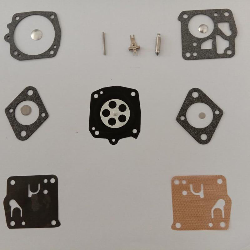 Carburetor Carb Kit For Tillotson HS On Homelite XL-12 Super XL Auto-Chain Saws