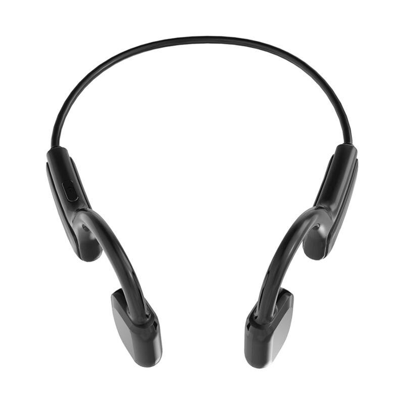 G1 True Bone Conduction Earphone Waterproof Wireless Bluetooth Headphone with Microphone Sports Not-in Ear Headset