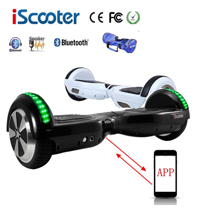 iScooter Self Balancing Hoverboard or two-wheel Skateboard with LED Light 1