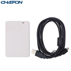 Image 1 - CHAFON lecteur de bureau uhf rfid, ISO18000 6B/6C pour système de contrôle daccès, carte échantillon uhf gratuite, logiciel de démonstration SDK