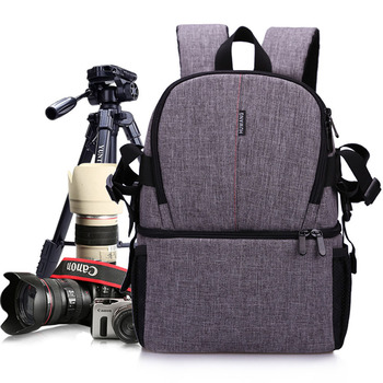 Multi-purpose DSLR Camera Bag Waterproof Photo Camera Bag Shoulder Bag Small DLSR Camera Backpack For Nikon Canon Pentax Sony