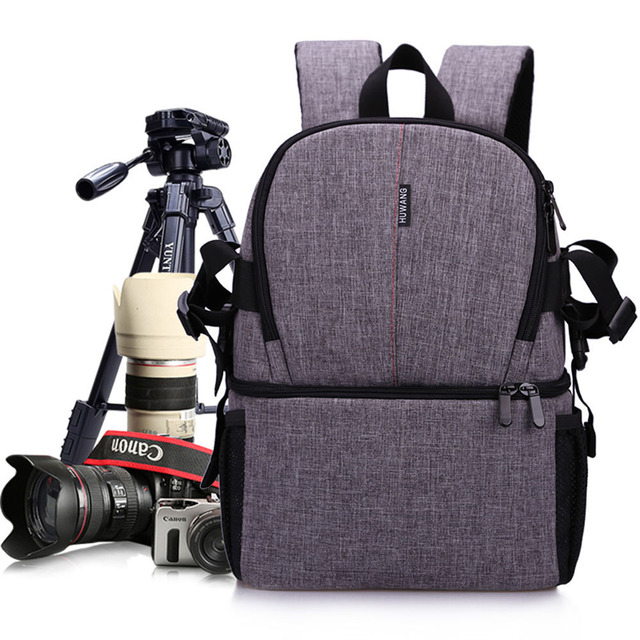Multi-purpose DSLR Camera Bag Waterproof Photo Camera Bag Shoulder Bag Small DLSR Camera Backpack For Nikon Canon Pentax Sony