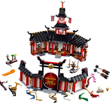 New Ninjagoes Building Blocks Ninja Monastery Of Spinjtzu Compatible with leping Bricks Children Toys Gifts 1198PCS compatible with lego ninja 70751 2150 pcs 06022 blocks ninja figure temple of airjitzu toys for children building blocks 70603
