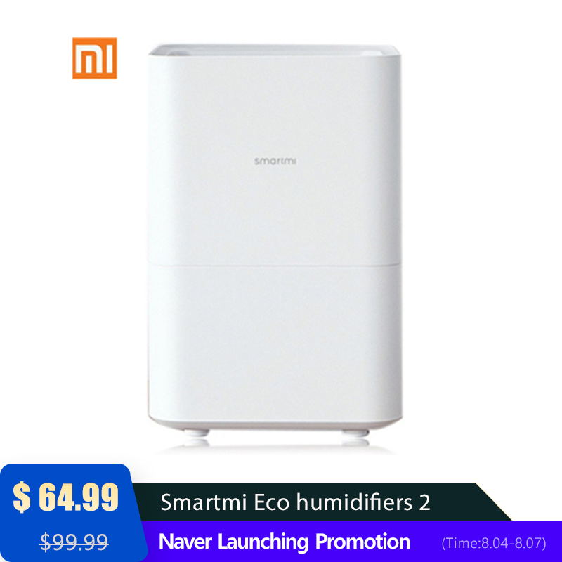 Original Smartmi Eco humidifiers 2 Inteligent APP Control Suit for Pregnant Women / Baby bedroom Fog free and  High capacity-in Air Purifiers from Home Appliances    1