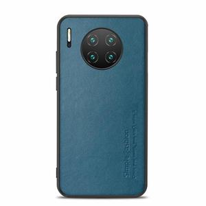 Image 1 - High end Fashion Business Phone Case For huawei Mate 30 30Pro Comprehensive Protection Pure leather phone case