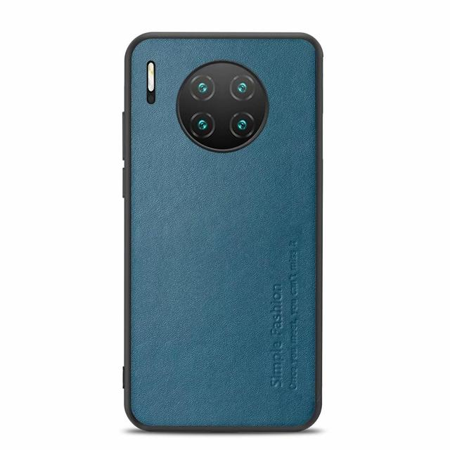 High end Fashion Business Phone Case For huawei Mate 30 30Pro Comprehensive Protection Pure leather phone case