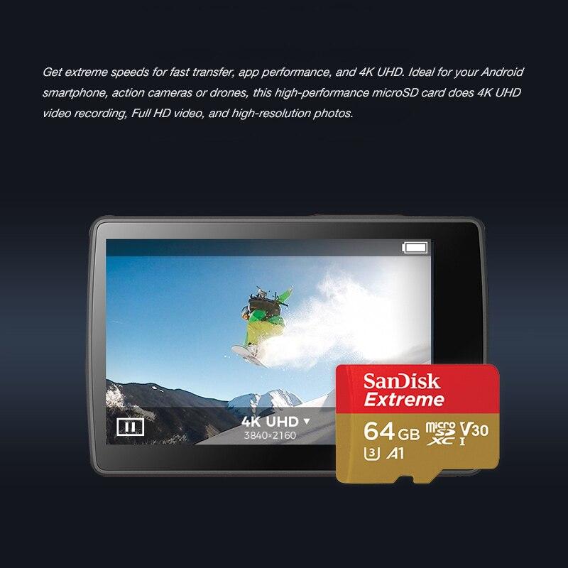 SanDisk Оригинальная карта Micro SD A2, 400 Гб 256 ГБ 128 Гб 64 Гб A1 32 ГБ, карта Menory Extreme Ultra micro SD 4K V30 TF флэш-карта-3