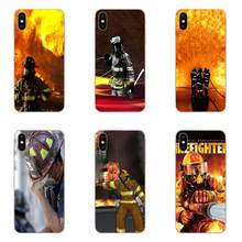 Real Heroes Firefighter Soft Print Phone Cover Case For Xiaomi Redmi Note 2 3 3S 4 4A 4X 5 5A 6 6A Pro Plus(China)