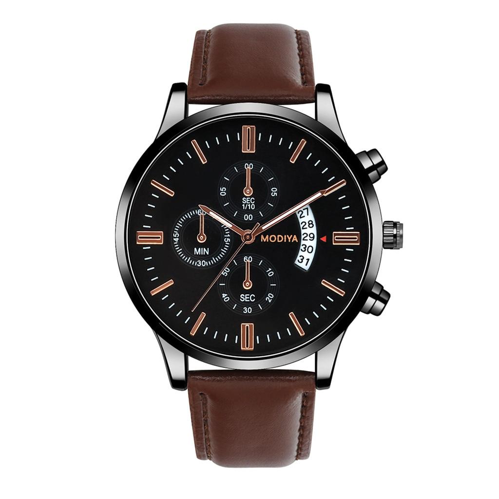 Men Luxury Stainless Steel Watch Quartz Business Calendar Wristwatch New relogio masculino curren watch men часы мужские Reloj 1