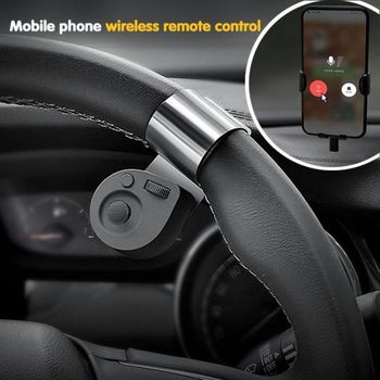 Car Portable Wireless Portable Cell Phone Controller Car Mounted Portable Phone Wireless Controller Steering Wheel Navigation