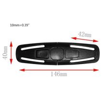 G2AD 5 Pcs Car Safety Seat Strap Belt Harness Chest Clip Lock Buckle Nylon Latch Fastener for Baby Children