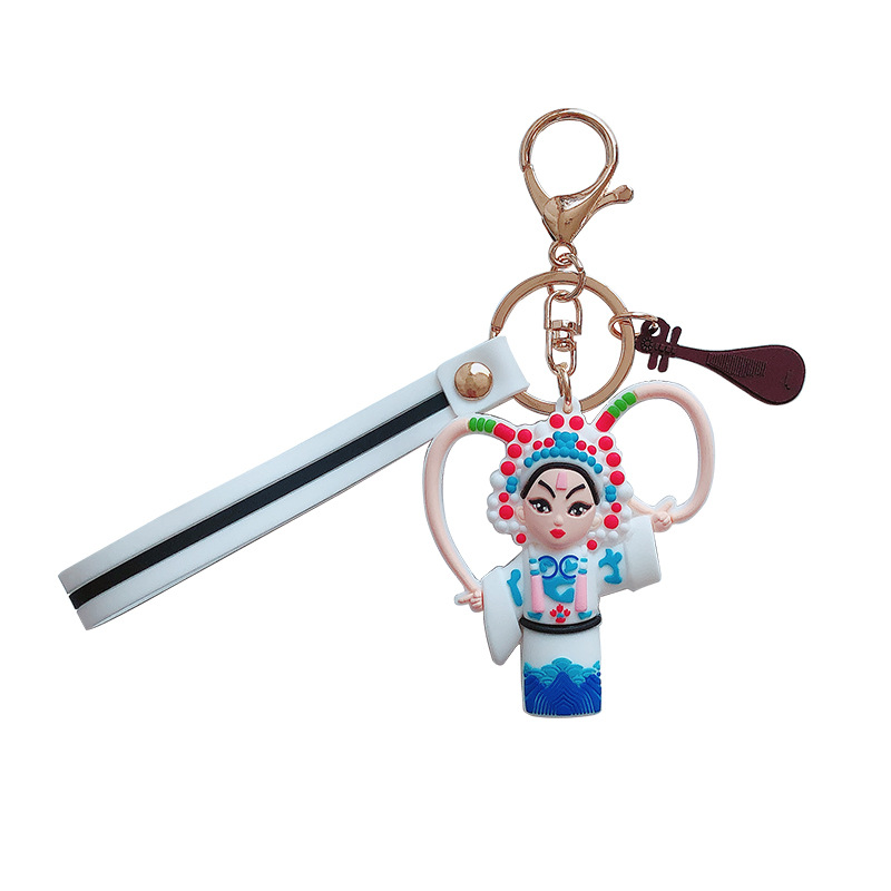 New creative Peking Opera doll toy Journey to the West Gongzi drama emoticon package drama features keychain small gifts image