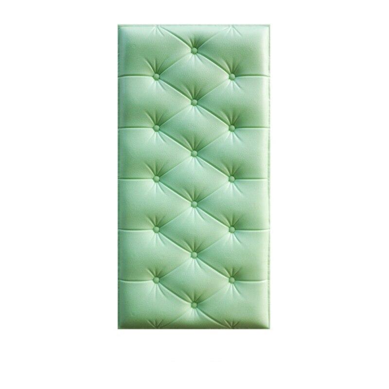 3D трехмерные наклейки на стену, утепленные татами, самоклеющиеся, анти-столкновения, настенный мат, детская спальня, кровать, мягкая подушка, Новинка - Цвет: G