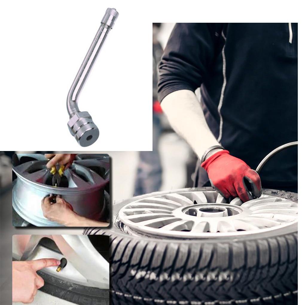 Универсальный TR545d 60 градусов изгиб грузовых шин Клапан стебли автомобиля бескамерные шины латунный клапан стержень