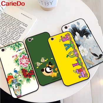 CarieDo Girl 2 Soft TPU Case Cover For Vivo Y71 Y83 Y81 Y51 Y93 Y97 Y91 Y95 V11i Z3i Z3 X21UD Z5X X27 V15 S1 Pro image