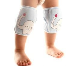Baby Boys Girls Knee Sleeve Leg Warmers Knee Pad Anti-fall Toddler Motion Crawl Cute Cartoon Knee Pad Safety Sport Elbow Support