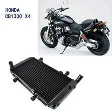 LOPOR  Motorcycle Aluminium Cooling Cooler Engine Radiator FOR Honda CB1300 X-4  CB 1300  X-4 1998-2003
