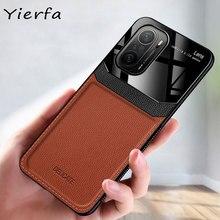 F3 케이스 샤오미 Poco F3 케이스 PU 가죽 실리콘 Shockproof 범퍼 커버 Xiomi Pocophone X3 NFC F2 Pro F 3 전화 케이스