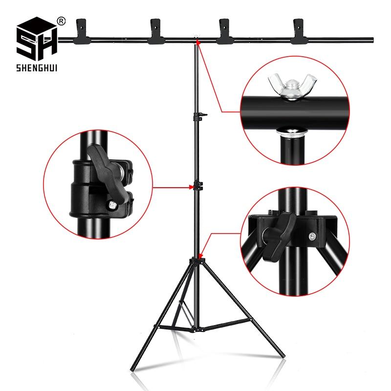 Регулируемая телескопическая фоторамка с Т образной подставкой разных размеров для студийной фотосъемки|Фон| | - AliExpress