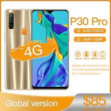 Versão global p30 pro smartphone android 10 128gb 256gb rom 7.2 polegada mtk 6899 celulares smartphones desbloqueado 4g/5g telefone móvel