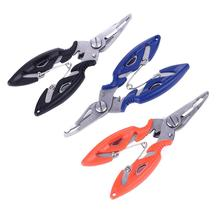 Multifunction Fishing Plier Scissor Braid Line Lure Cutter Hook Remover Tackle Tool Cutting Fish Use Tongs Scissors Fishing Tool steel fishing pliers fish line cutter scissors mini fish hook remover multifunction fishing hook remover hard objects cut tool