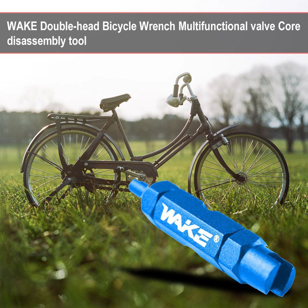 Cycling  Bicycle Wrench Aluminum Alloy  Valve Core Key  Bike Disassembly Tool