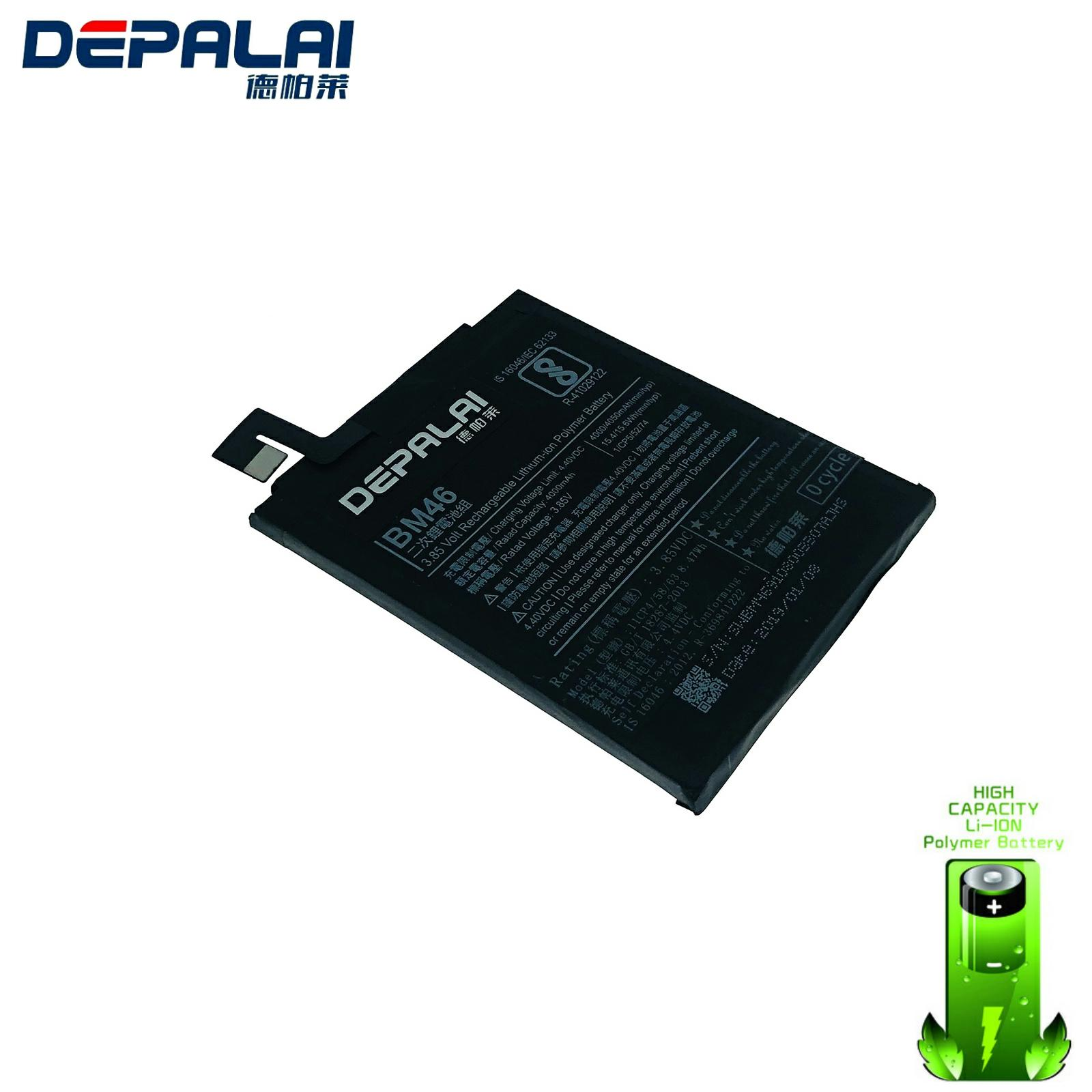 BM46 Battery Real 4000mAh For Xiaomi Redmi Note 3 Note 3 Pro Phone Replacement battery image