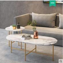 Мраморный чайный столик, простой современный край, несколько небольших семейных гостиной, чайный столик, роскошный чайный набор кухонной мебели, круговой чай