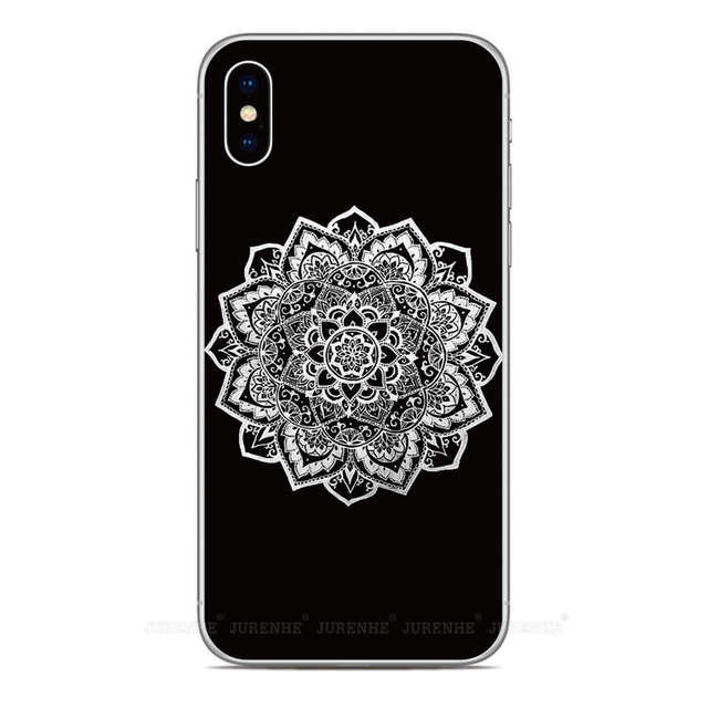 TPU Soft Silicone Mandala Floral Cover For Wiko View 4 2 Go XL U Feel Lite Lenny 5 Jerry 4 Tommy Sunny 3 Harry 2 Phone Case