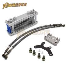 Chinese Made Horizontal Engine Dirt Pit 50cc 70cc 90cc 110cc 125cc 140cc Monkey Bike ATV Motorcycle Oil Cooling Cooler Radiator