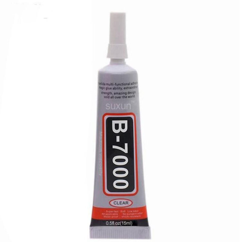 1pc <font><b>B7000</b></font> <font><b>15ml</b></font> Best Multi Purpose <font><b>Glue</b></font> Adhesive Epoxy Resin DIY Crafts Glass Touch Screen Cell Phone Super <font><b>Glue</b></font> <font><b>B7000</b></font> Nail Gel image