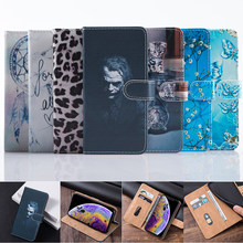 For Meizu C9 Pro C9 Case 3D Matte clown PU Leather Magnetic Flip Wallet Case For Meizu 16th 16 Plus 16X 16T X8 Note 9 Case Stand(China)