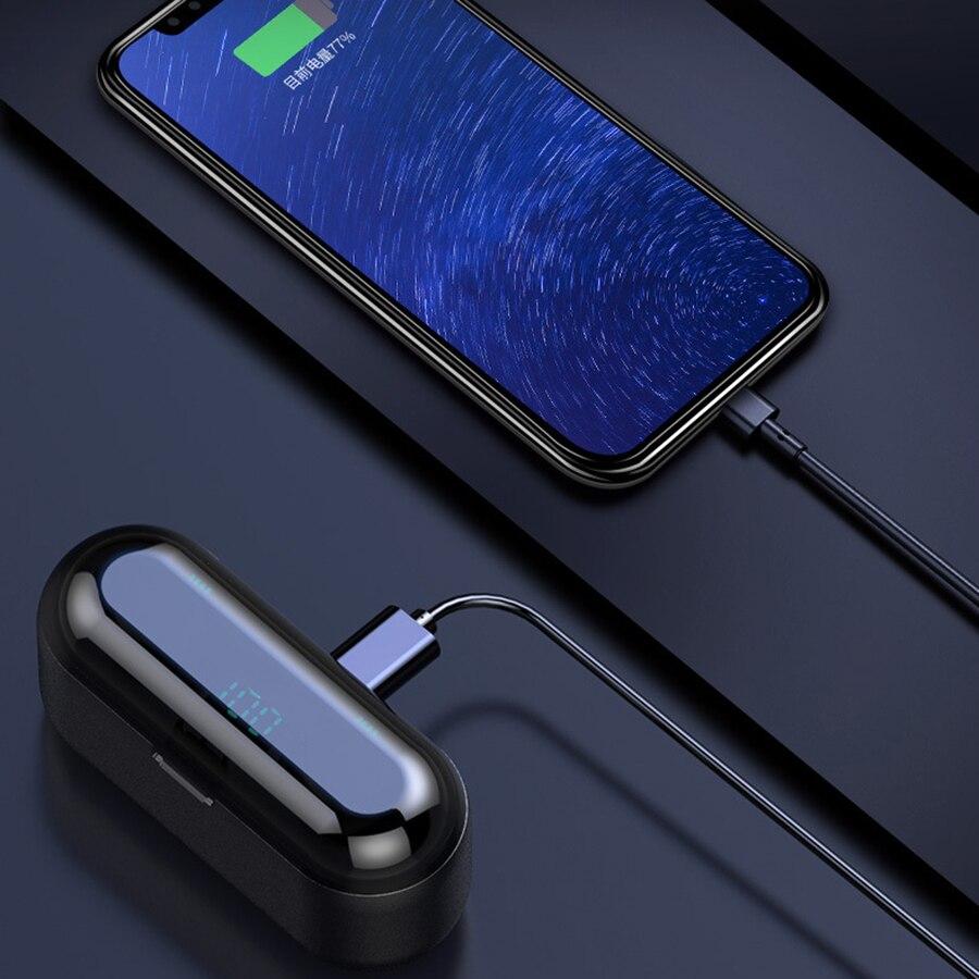 Wireless Earphone Bluetooth 5.0 F9 TWS with 2000mAh Battery 1