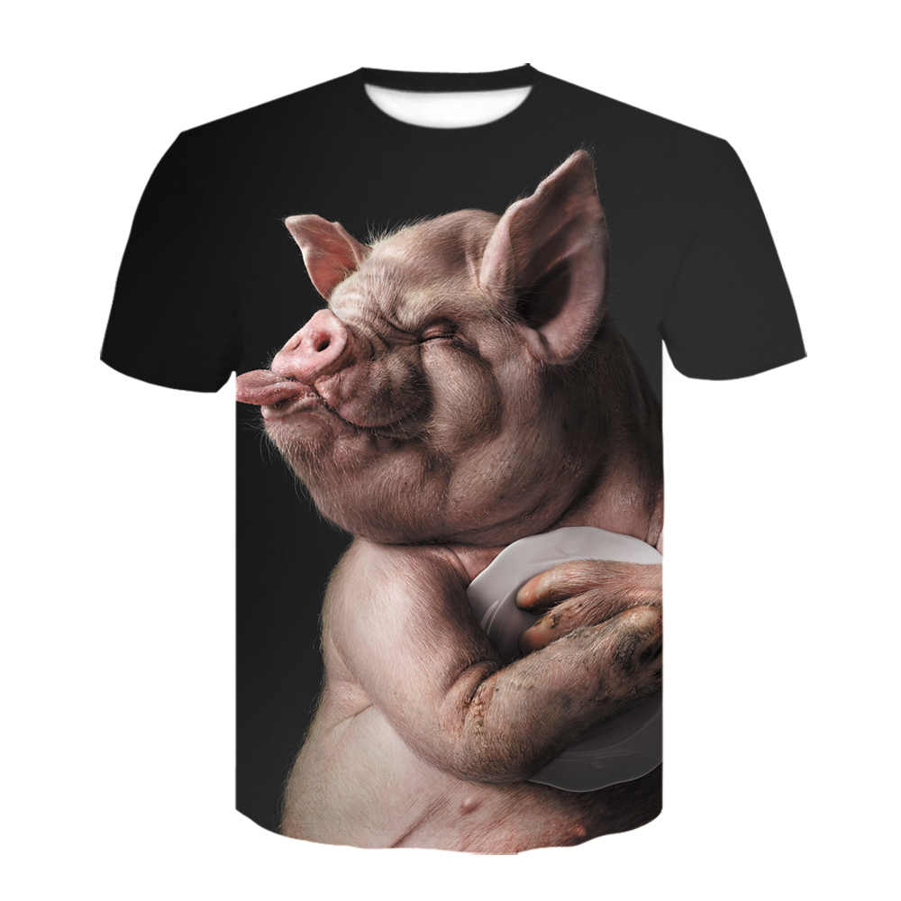 New lion 3D 프린트 티셔츠 퀸 록 밴드 T 셔츠 블랙 반소매 남성 의류 패션 셔츠 하라주쿠 오프 화이트 tshirt
