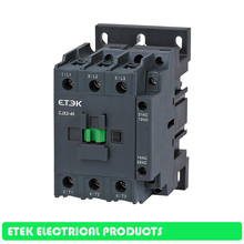 CJX2i-40 AC Contactor    3-Phase DIN Rail Mount Electric Power Contactor manhua gmc 32 3 phase ac electrical magnetic contactor control power signal