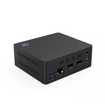 AP45 WIN10 Mini PC intel Pentium J4205 up to 2.6GHz DDR3L 8GB SSD 128GB windows 10 2*HD output 4*USB3.0 Gigabit LAN 4K HTPC NUC